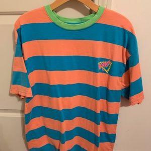 Wavy Daze Striped Shirt